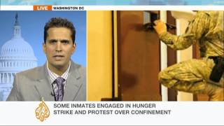 Guantanamo guards try to break hunger strike