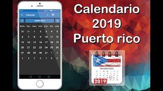 Calendario Puerto Rico 2019 con feriados Competitors List