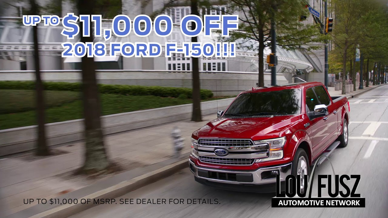 Lou Fusz Ford >> April 2019 Lou Fusz Ford Tv Commercial Youtube