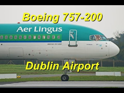 2x Aer Lingus Boeing 757-200 EI-LBT & EI-LBR Take Off RWY10 at Dublin Airport !