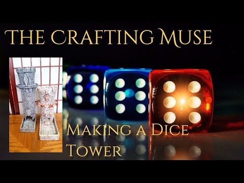 DIY Dice Towers for D&D and TTRPG Gamers