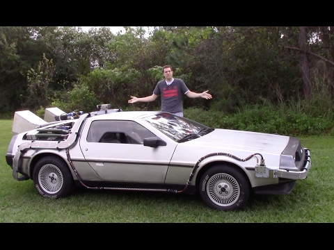DeLorean Time Machine: Tour and Road Test