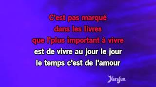 Karaoké Lucie - Pascal Obispo *