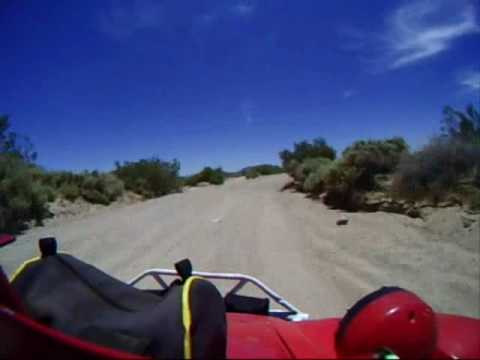Turbotexas riding in the Barstow area - YouTube