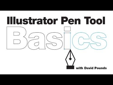 Illustrator Pen tool basics