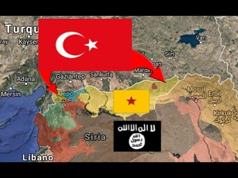 Los turcos salvan a Isis | Guerra siria 27/4/2017