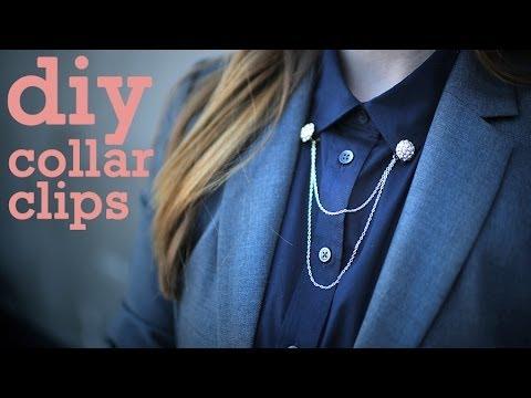 DIY Fashion | Collar Clips | Designer DIY