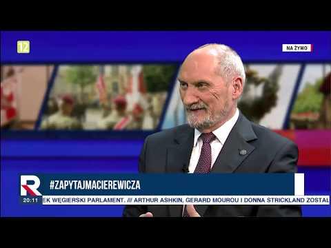 """A Macierewicz """"niepokoi mnie pewna grupa byłych generałów"""" 02.10.2018"""