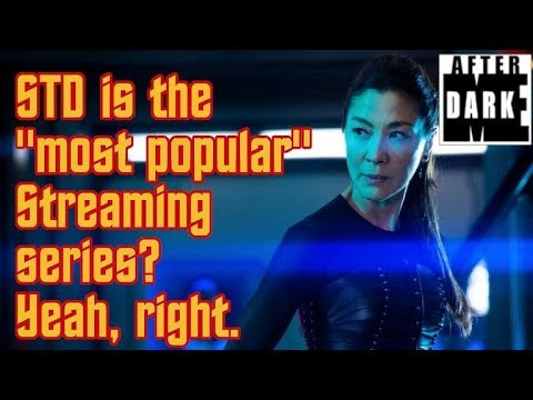 Is Star Trek Discovery Really The Most Popular Streaming Series? - Robb's Ramblings