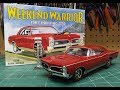 Mpc 1967 Pontiac Gto 400 1/25 Scale Model Kit Build Review Mpc918