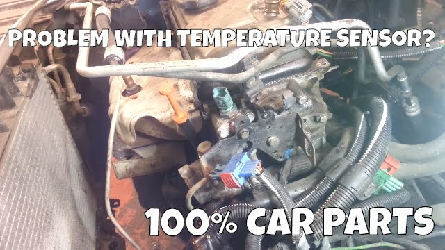 How To Change Replace Coolant Water Temperature Sensor