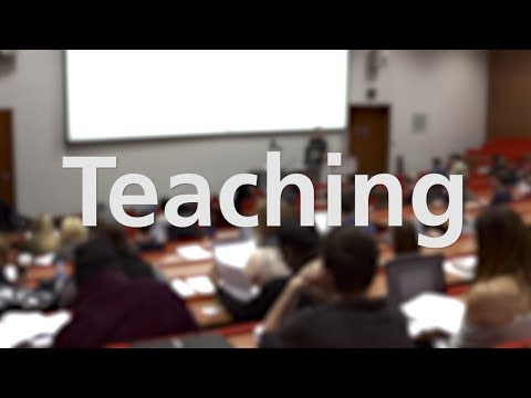 Teaching at the University of Leicester