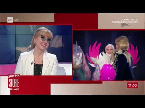 Milly Carlucci e 'Il cantante mascherato', il grande successo di Rai1 - Storie italiane 16/01/2020