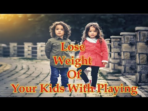 Weight Loss At Home For Kids | Lose Weight By Playing Games