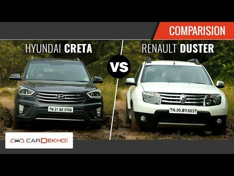 Hyundai Creta vs Renault Duster | The Perfect SUV Face-off | Comparison