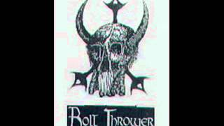 BOLT THROWER - forgotten existence (demo 87)