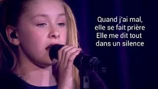 Gloria (kids United )--Les yeux de la mama Paroles/Lyrics