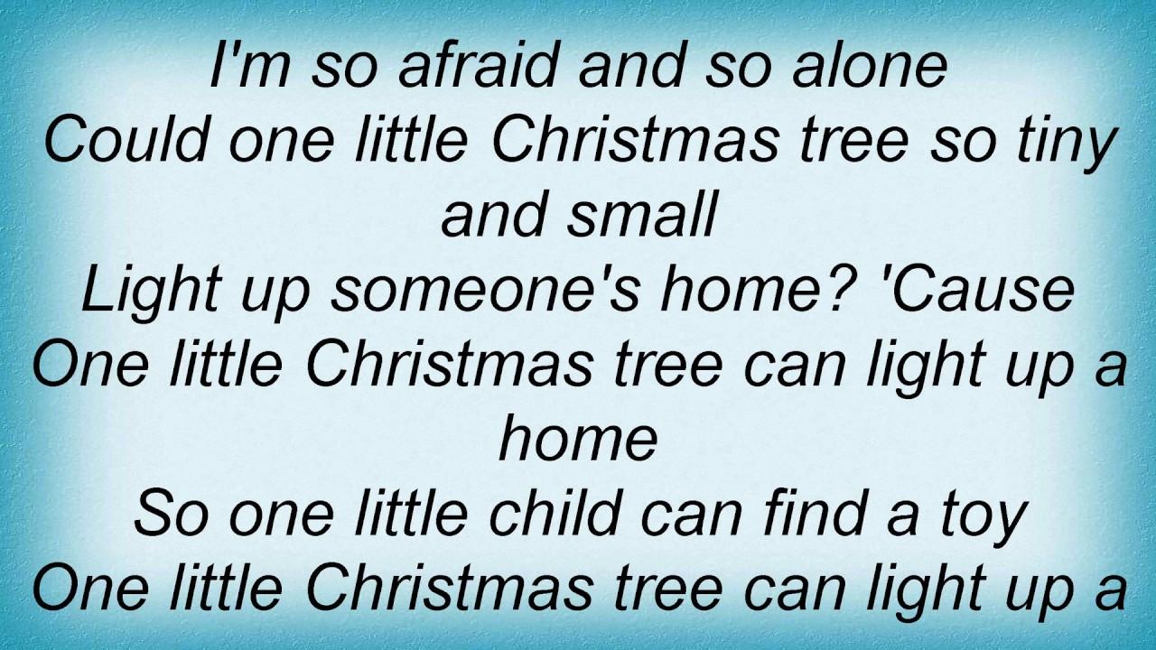 High Quality Sister Hazel   One Little Christmas Tree Lyrics