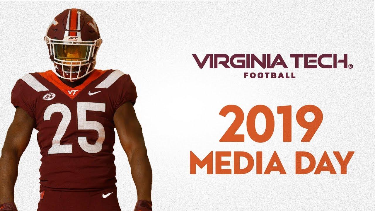 2019 Virginia Tech Football Media Day