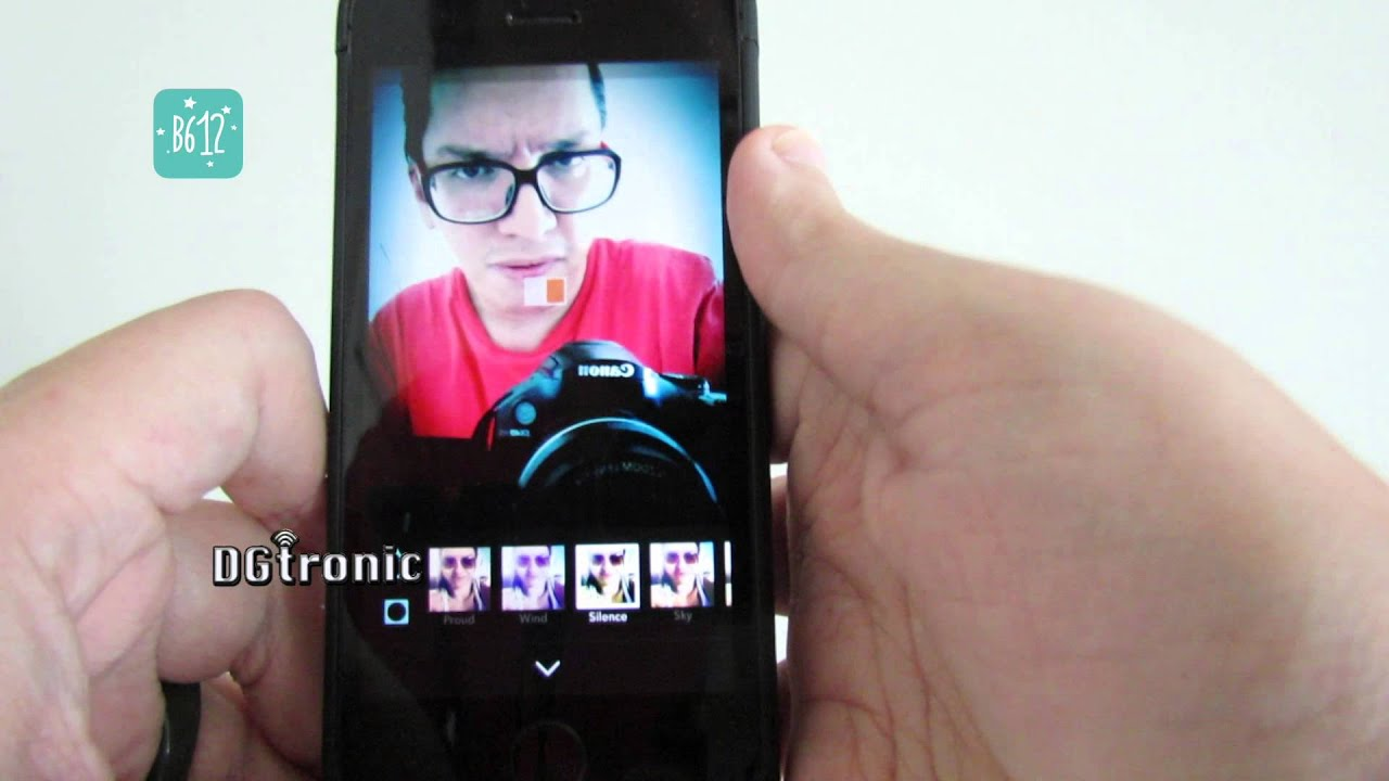 iPhone App Review - B612 Selfie From The Heart