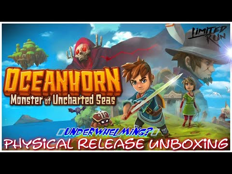 Limited Run Games Unboxing: Oceanhorn On The Nintendo Switch (Another Lame Unboxing)