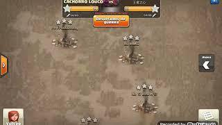 Th9 vs Th9: Stoned GoBoHo (Alex Mtnez - CACHORRO LOUCO - Clash Of Clans)