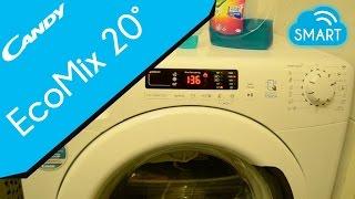 Candy SMART TOUCH washing machine - Eco Mix 20° wash cycle