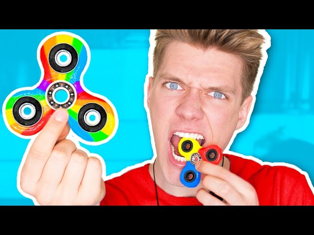 DIY Candy Fidget Spinners YOU CAN EAT!!!!!!! Rare Edible Fidget Spinner Toys & Tricks