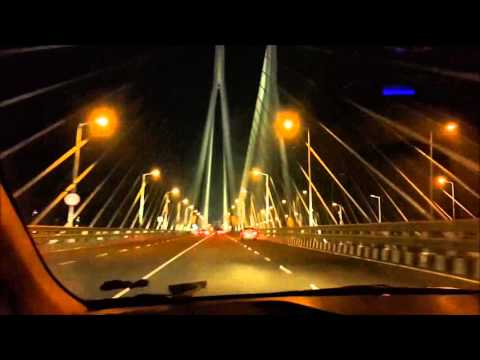 Bandra worli sealink @ Bombay night