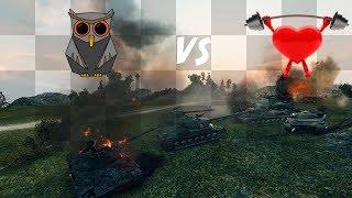 HOOT  vs H3ART - 2 Tanks Lost IMMEDIATELY - MAP Control = 0 ||  WOT Mines CW