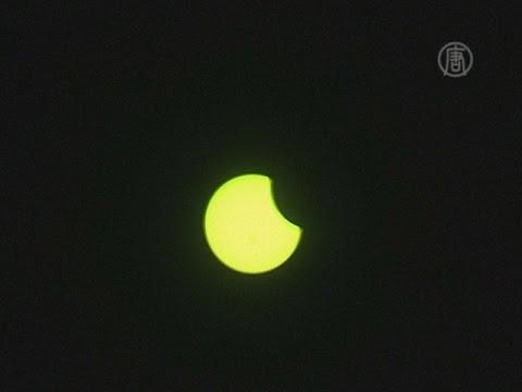 Частичное солнечное затмение наблюдали в США (новости)