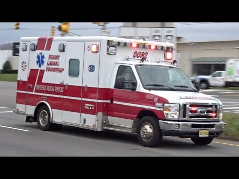 Mt. Laurel Ambulance 3682 & Virtua Paramedics Responding
