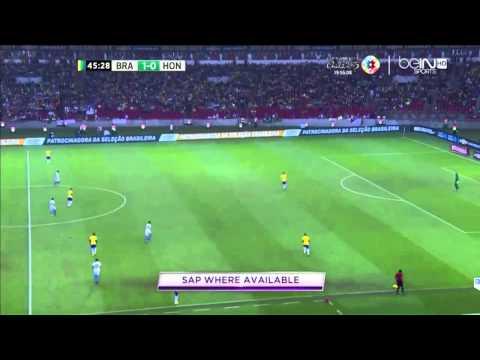Brasil Vs Honduras 1-0 full match-friendly match (11/6/2015)