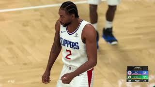 Clippers vs Celtics Full Game Highlights   NBA Feb 13th, 2020   Los Angeles vs Boston (NBA 2K)
