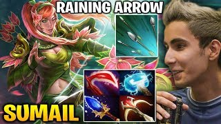 Sumail Windranger Raining Arrow with 27 Kills