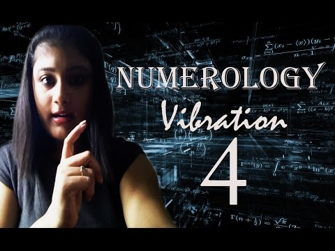 Numerology Number Vibration 4