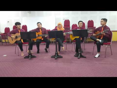 Flashlight- Jessi J cover by (QONTI) - quintet guitar classic