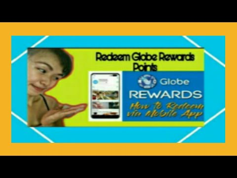 How to Redeem your points in Globe Rewards App