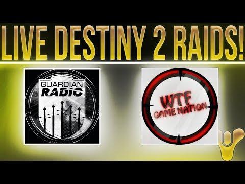 🔴LIVE! Destiny 2 Prestige Raid, Lair & More With Guardian Radio & WTFGameNation!