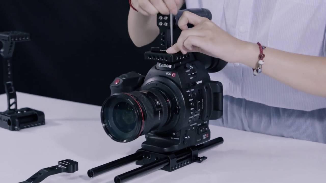 SmallRig 1703 Cage for Canon EOS C100/ MkII