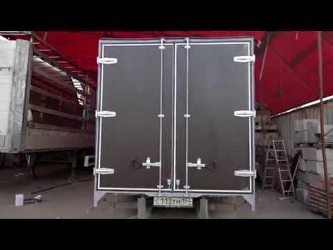 видео: Ворота на Газель 2х2,1м.