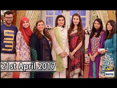 Good Morning Pakistan - 21st April 2017 - ARY Digital Show