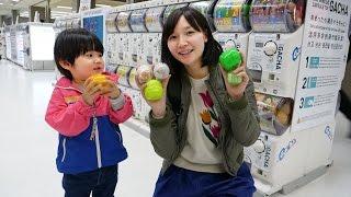 【話題のスポット】たくさんガチャがある成田空港に行ってきた