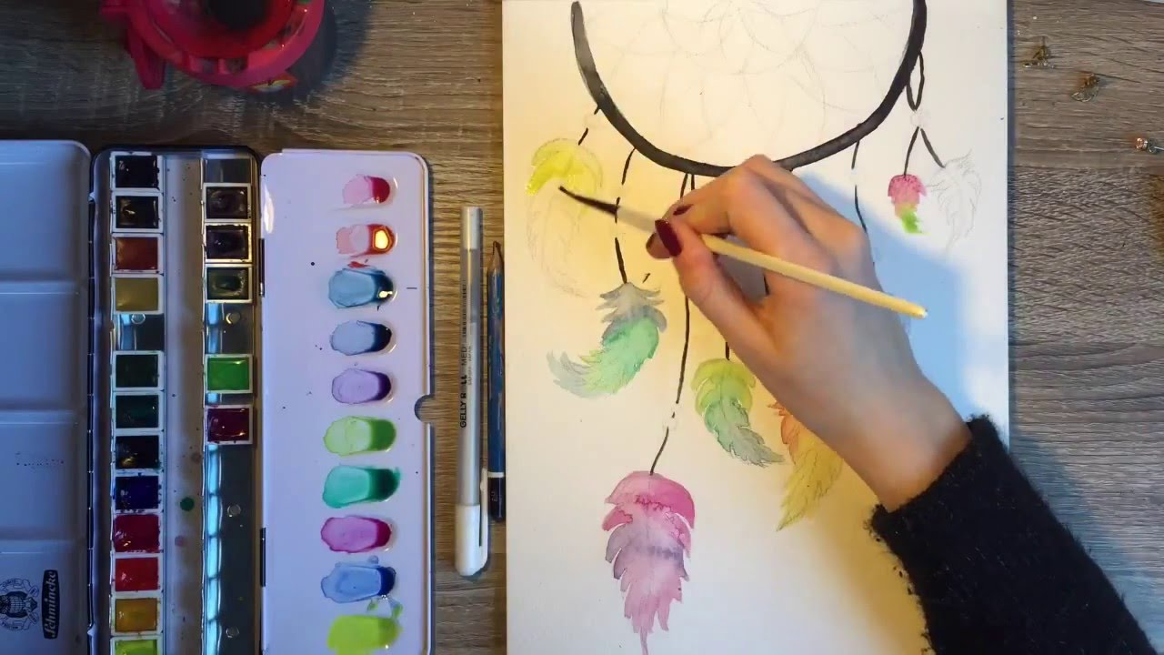 Color art dreamcatcher - Color Art Dreamcatcher 42