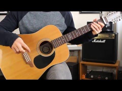 Eddie Vedder - Hard Sun Guitar Tutorial (INTRO RIFF, CHORDS, STRUMMING PATTERN))