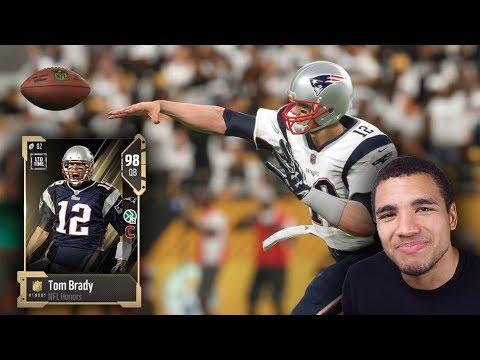 WE GOT NFL HONORS TOM BRADY!! MADDEN 18 ULTIMATE TEAM