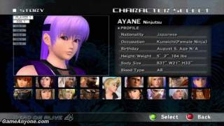 Dead or Alive 4 - Ayane