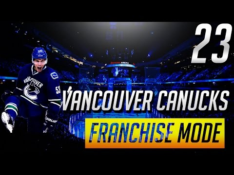 "NHL 17 FRANCHISE VANCOUVER CANUCKS - ""Howden Traded?"" ep.23"