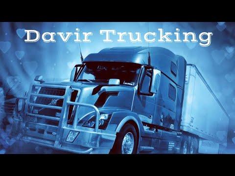 Дальнобой США/ Хакеры взломали канал/ Davir Trucking..