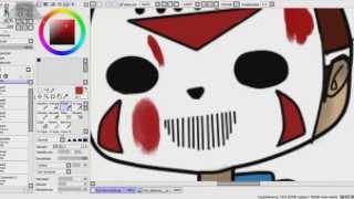 h20 delirious speedpaint paint tools sai basic